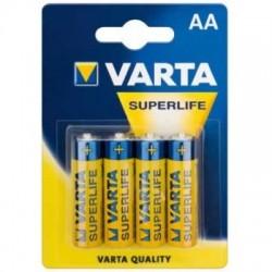 Батарейки Varta Superlife 2006 R6 BL4
